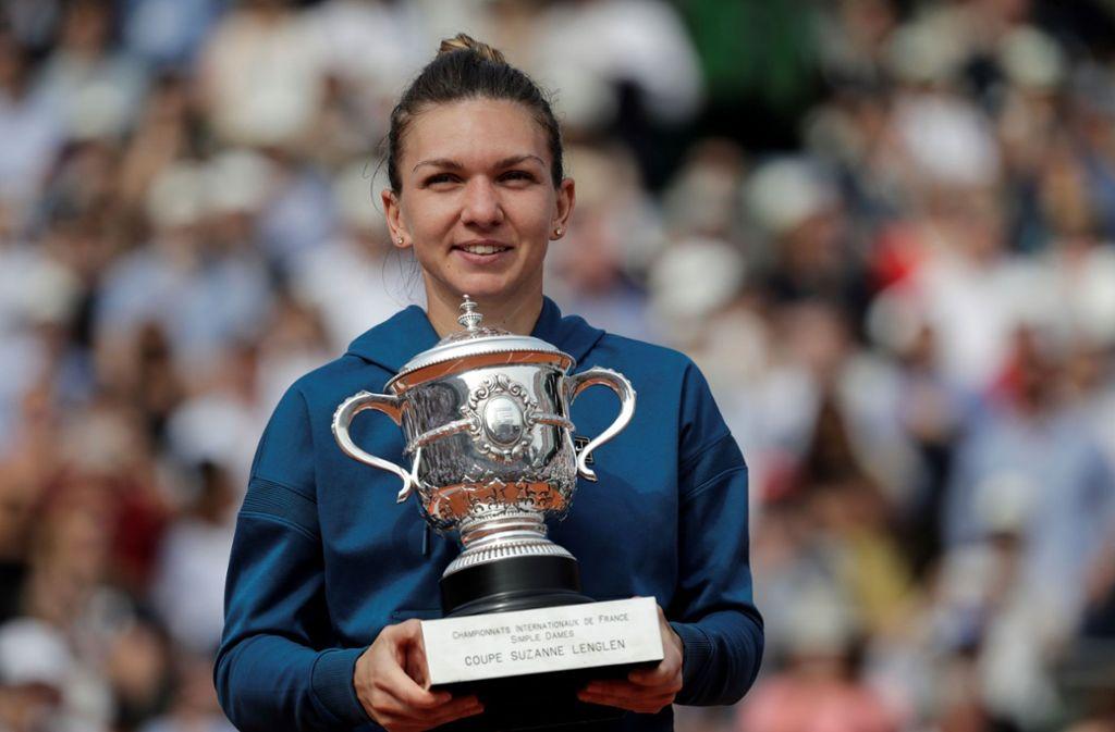 Nach drei Finalniederlagen holte sich Simona Halep ihren ersten Grand-Slam-Titel in Paris. Foto: AFP