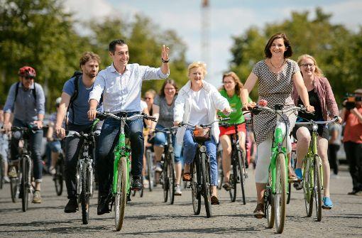 Cem Özdemirs grünes E-Bike aus Hausflur geklaut