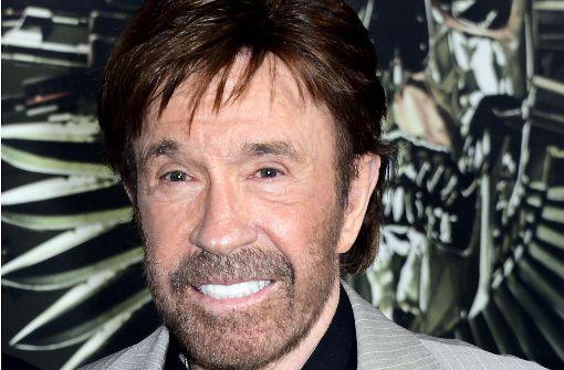 Chuck Norris zu Besuch in Stuttgart