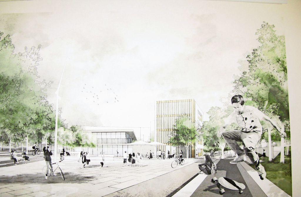 Diesen Plan hat das Dresdner Büro Schieferdecker Landschaftsarchitektur mit Friedemann Rentsch Architektur gezeichnet. Foto: Götz Schultheiss