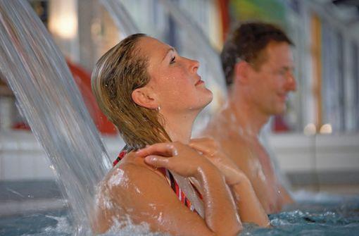 Prickelnde Kraft: Das Bad Griesbacher Thermalmineralwasser wirkt heilkräftig auf den ganzen Körper