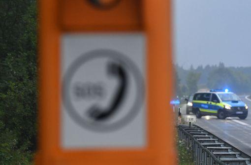 Drei Verletzte bei Unfall auf A5