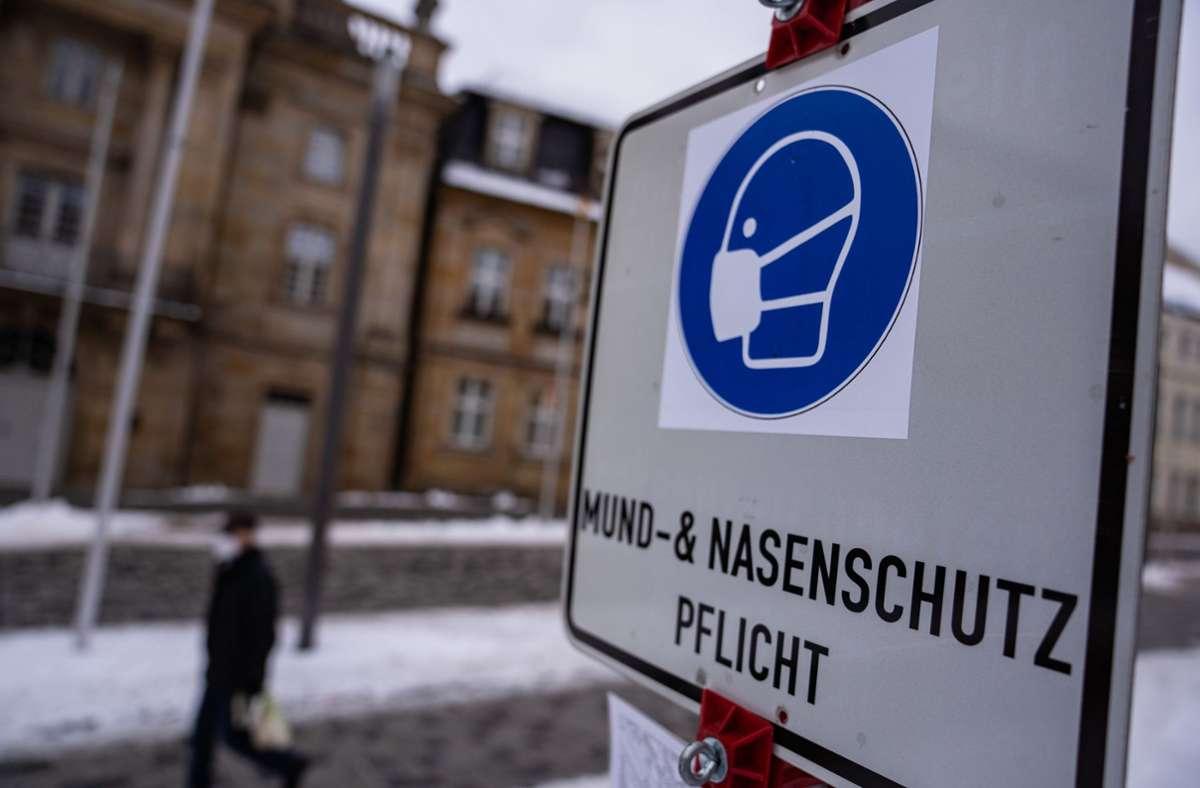 Die höchsten Inzidenzen haben Thüringen mit 225,0 und Brandenburg mit 203,3. Den niedrigsten Wert hat Bremen mit 76,6. Foto: dpa/Nicolas Armer