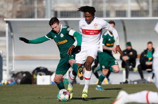 Pellegrino Matarazzo lässt Mohamed Sankoh erneut vorspielen