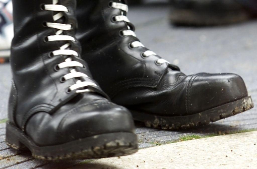 Schon wieder sind Rechtsradikale in Göppingen aufmarschiert. Foto: dapd