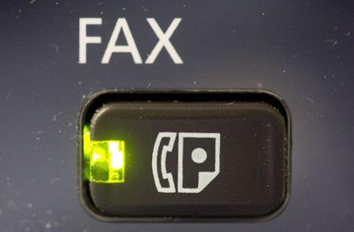 Faxen bei Behörden - voll retro oder voll richtig?