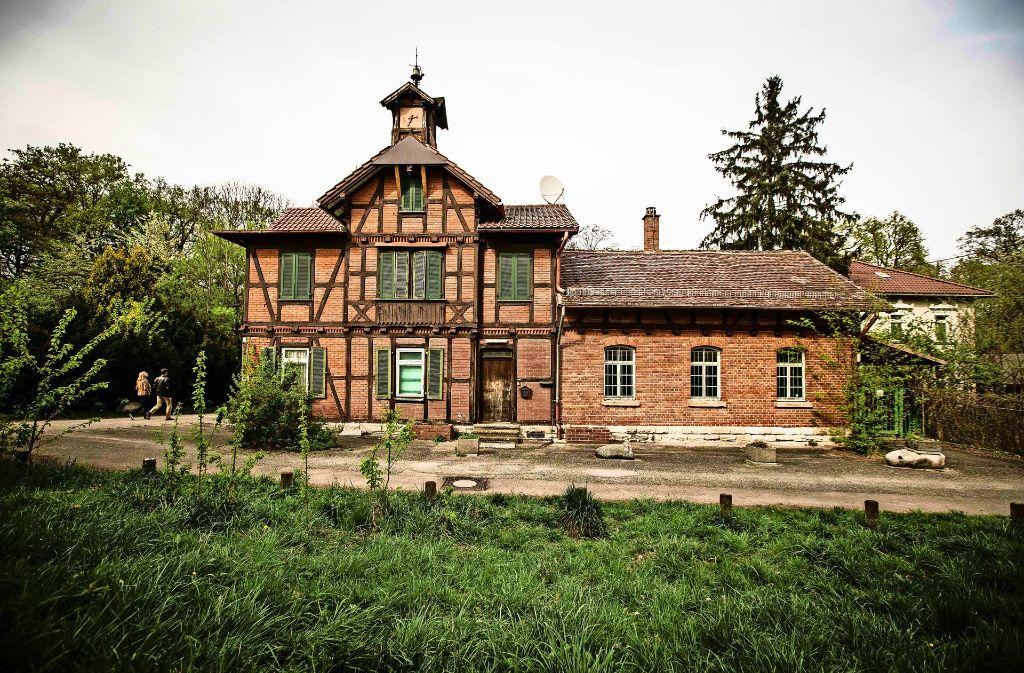Das Garnisonsschützenhaus  ist  immer noch verwaist. Foto: Leif Piechowski