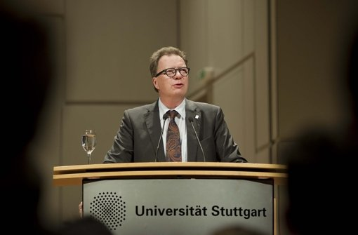 Wolfram Ressel sieht seine Universität auf einem sehr guten Weg. Foto: Lichtgut/Max Kovalenko