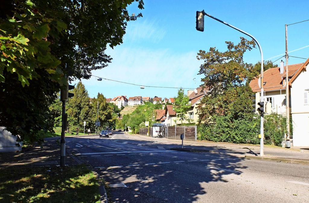 Die Umgestaltung der Mönchfeldstraße wird auch Thema im Verkehrsstrukturplan sein. Foto: Iris Frey