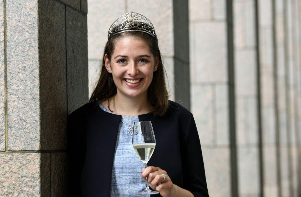 Miriam Kaltenbach wird den badischen Wein zwölf Monate lang im In- und Ausland repräsentieren. Foto: dpa