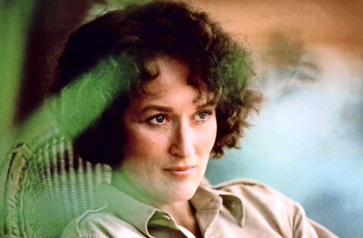 """Meryl Streep war 1985 für """"Jenseits von Afrika"""" nicht einmal die erste Wahl. Foto: Imago Images"""