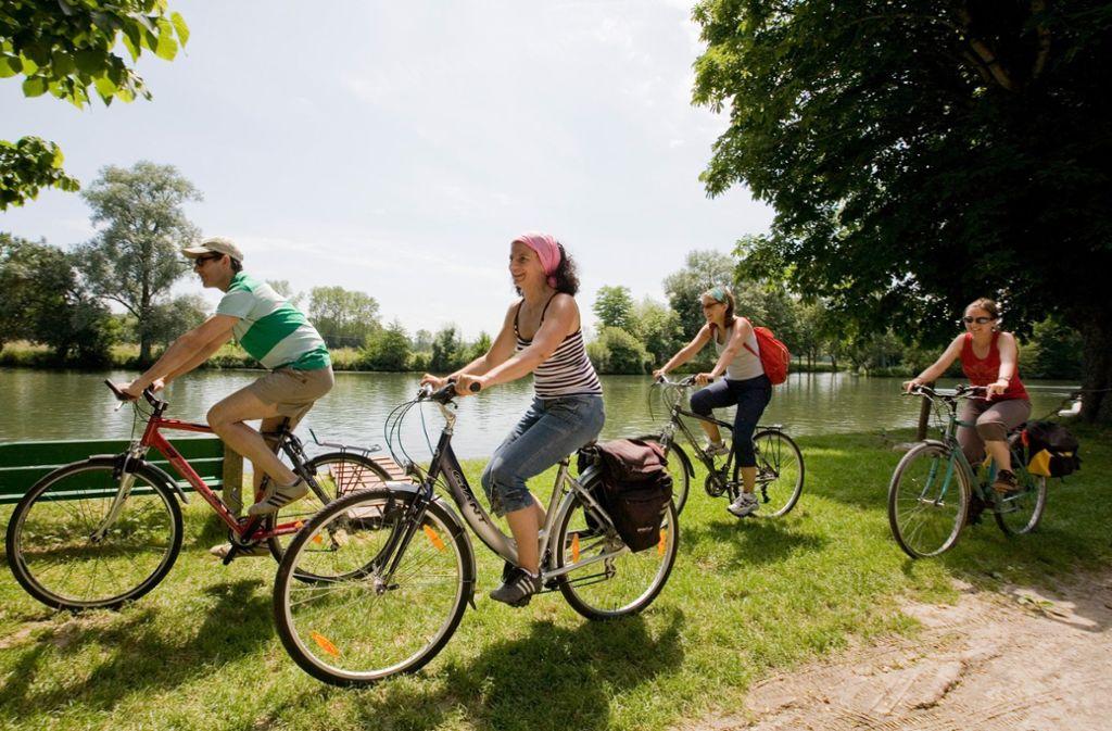 """Das Motto der Sternfahrt nach Stuttgart lautet: """"Mehr Platz fürs Rad"""". Foto: dpa-tmn"""