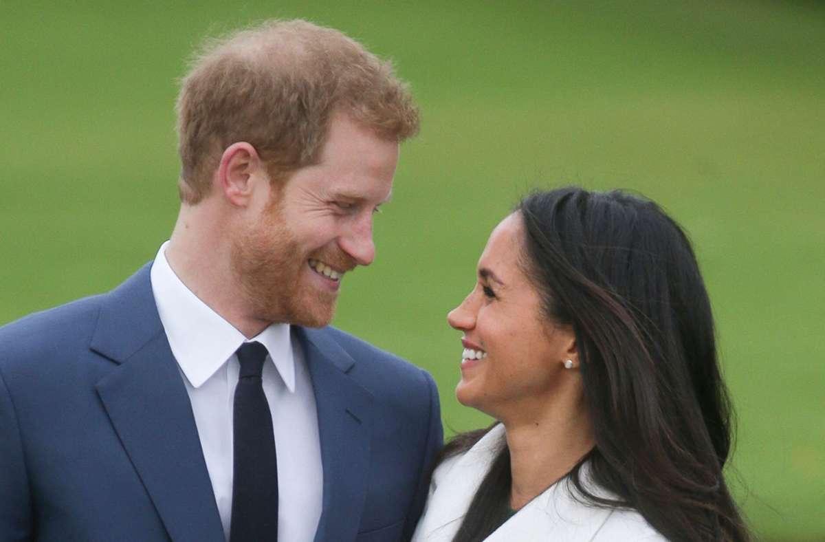 Drei Jahre sind Prinz Harry und Herzogin Meghan nun ein Ehepaar. Foto: AFP/DANIEL LEAL-OLIVAS
