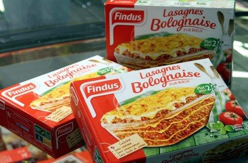 Rindfleischlasagne? Von wegen. In diesen Produkten wurde Pferdefleisch entdeckt. Foto: dpa