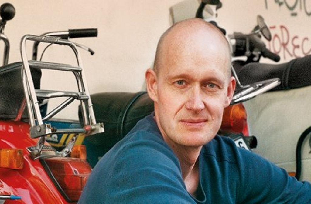 Arno Geiger liest am Montagabend im Literaturhaus aus seiner Sommergeschichte. Foto: Veranstalter