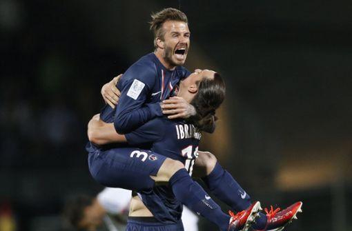 Zlatan Ibrahimovic bietet David Beckham verrückte Wette an