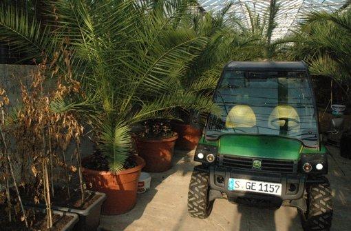 Traktor aus Gärtnerei gestohlen