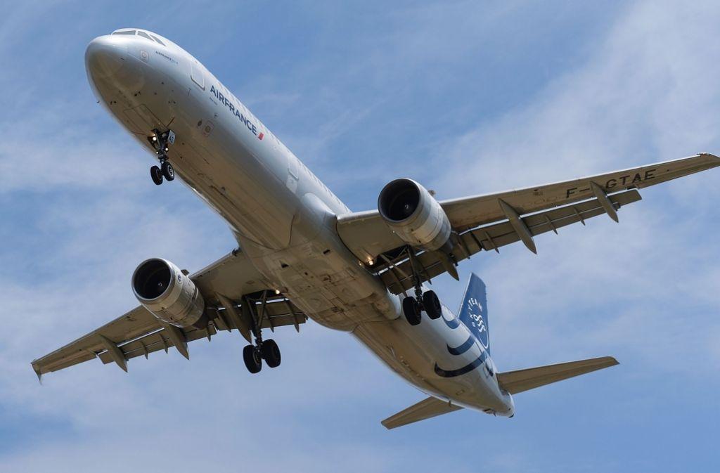 Piloten der Air France sind in Streik getreten. Foto: AFP