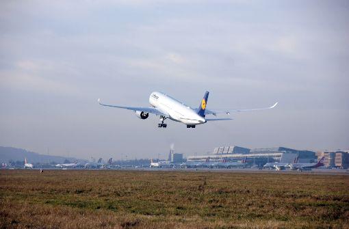 """Airbus A350-900 wird auf den Namen """"Stuttgart"""" getauft"""