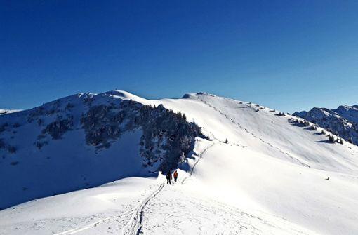 Schneewandern im Bregenzer Wald