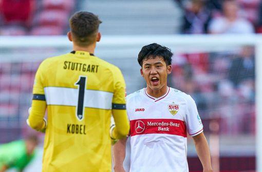 Gregor Kobel und Wataru Endo zurück im Training