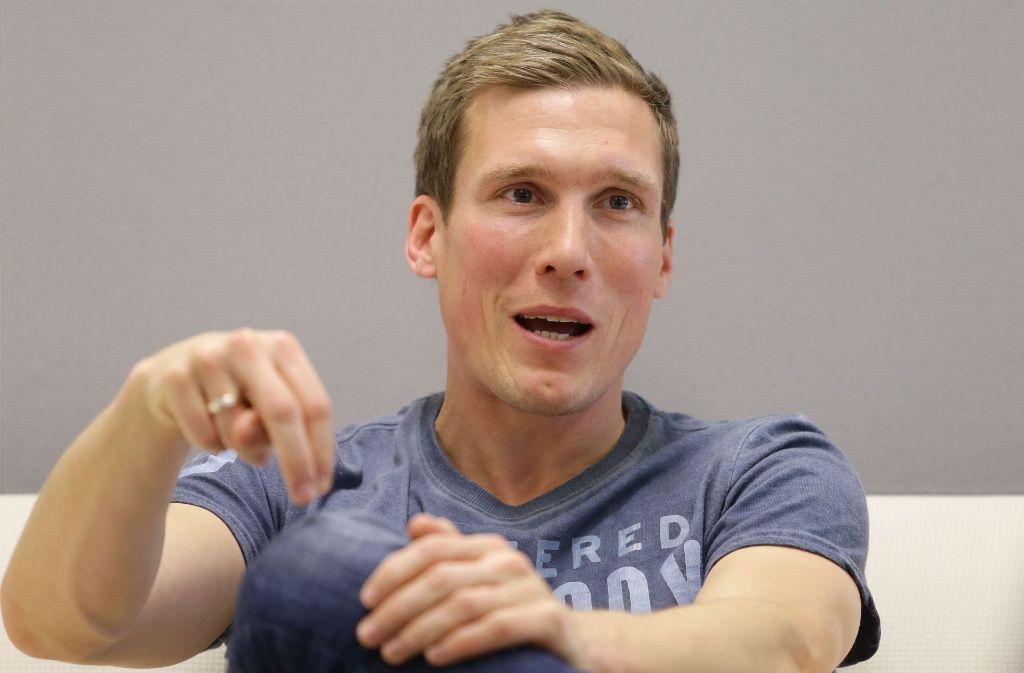Hannes Wolf weiß genau, wo er sportlich hin will: Mit dem VfB Stuttgart zurück in die Fußball-Bundesliga. Foto: Baumann