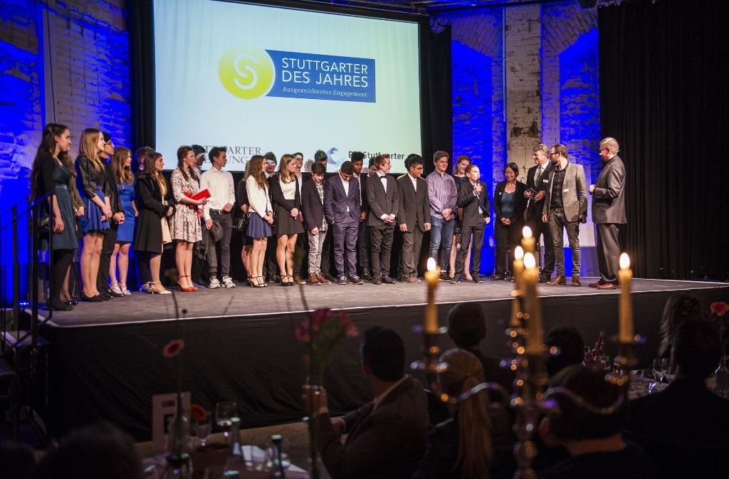 Stimmungsvolle Gala: 2016 sind die Stuttgarter des Jahres in den Wagenhallen ausgezeichnet worden. Dieses Jahr wird die Gala im Wizemann stattfinden. Foto: Lichtgut/Max Kovalenko