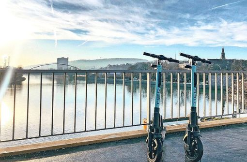 Neue E-Scooter in Stuttgart