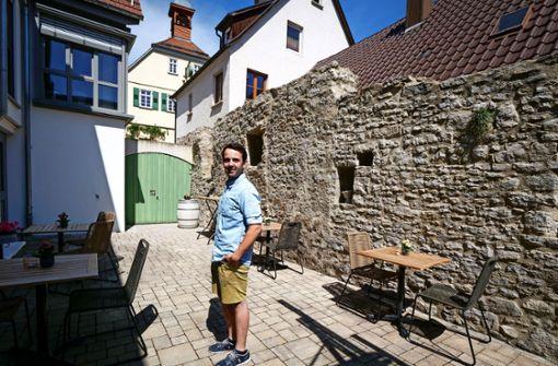 Ein kleines, aber feines Weinhotel am Neckar