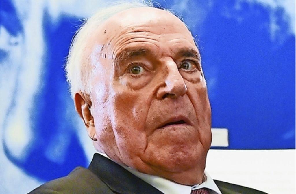 Altkanzler Helmut Kohl hat erneut Recht bekommen.  Foto: dpa