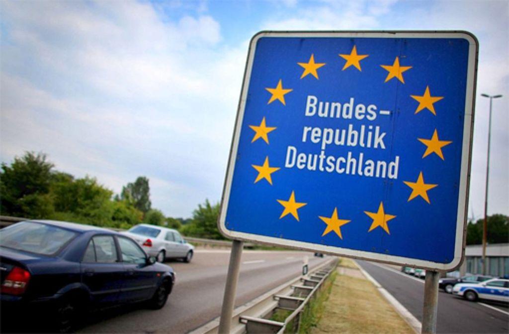 Die Bundesregierung führt vorübergehend wieder Grenzkontrollen ein. Foto: dpa