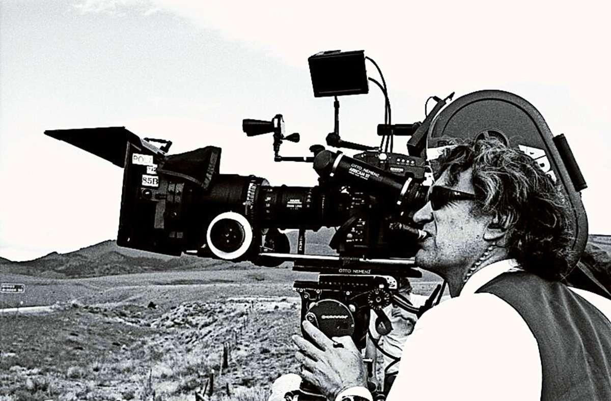 """Eine Szene aus dem Dokumentarfilm """"Desperado – Wim Wenders"""" Foto: Studio Hamburg Enterprises"""