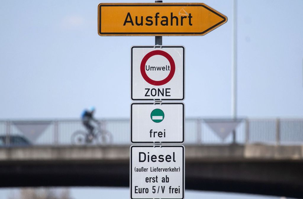 Das Diesel-Fahrverbot in Stuttgart ist von Gerichten bestätigt worden. Foto: dpa/Marijan Murat