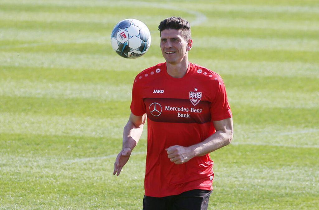 Noch fünf Spiele, dann ist für Mario Gomez beim VfB Stuttgart Schluss. Foto: imago//Herbert Rudel