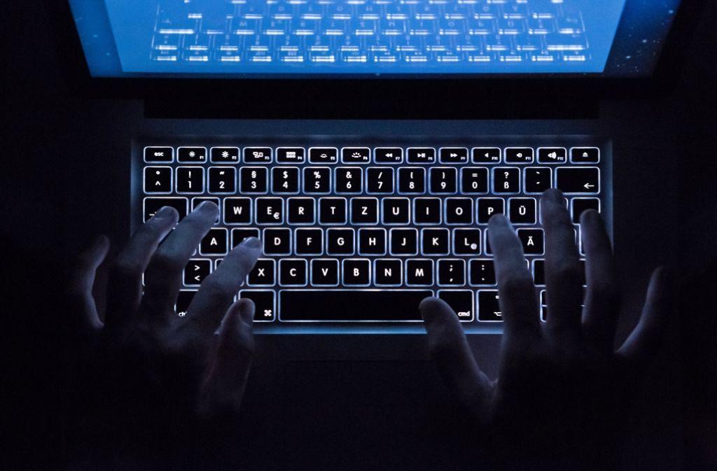 Waffenhandel im Darknet  boomt. Foto: dpa