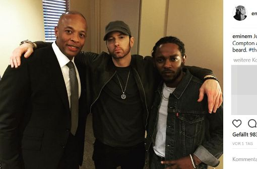Eminem erscheint mit Bart, das Netz dreht durch