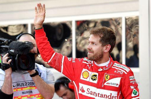 Vettel holt Pole Position in Russland