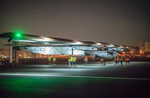 Solarflieger startet zur letzten Etappe