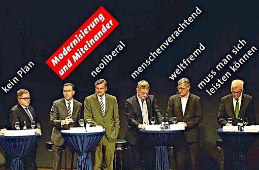Die Etikettenaktion der SPD ist im Netz nicht goutiert worden. Foto: SPD