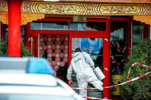 Gewaltverbrechen in Asia-Restaurant?