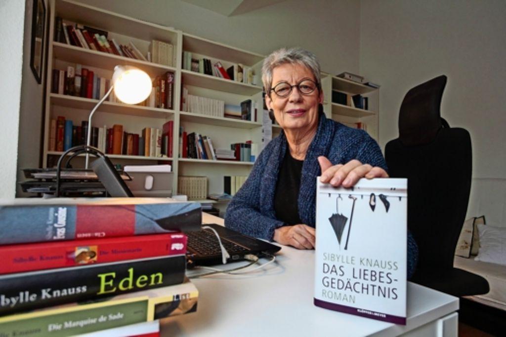 Sibylle Knauss fragt, was bleibt, wenn  das Erinnern geht. Foto: factum/Granville