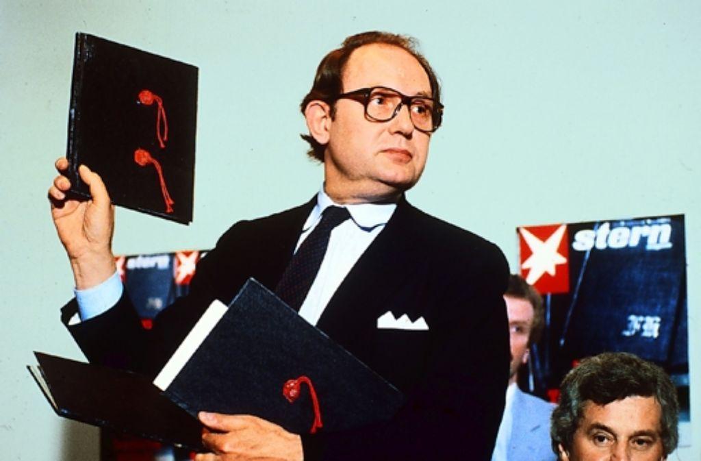 Hamburg, 25. April 1983: Gerd Heidema Foto: ZDF