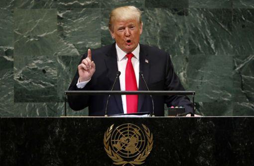 Trump ruft zur weltweiten Isolation der iranischen Regierung auf
