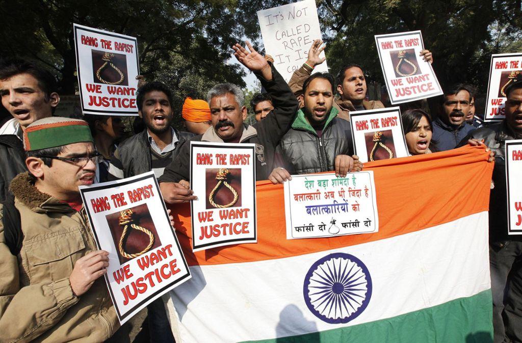 Gewalt gegen Frauen ist nach wie vor ein großes Problem in Indien. Foto: dpa/Harish Tyagi