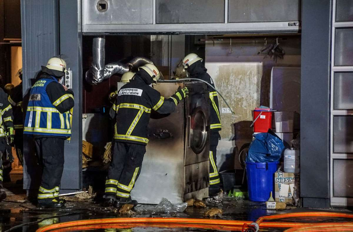 Der Wäschetrockner war der Auslöser des Einsatzes Foto: SDMG//Dettenmeyer