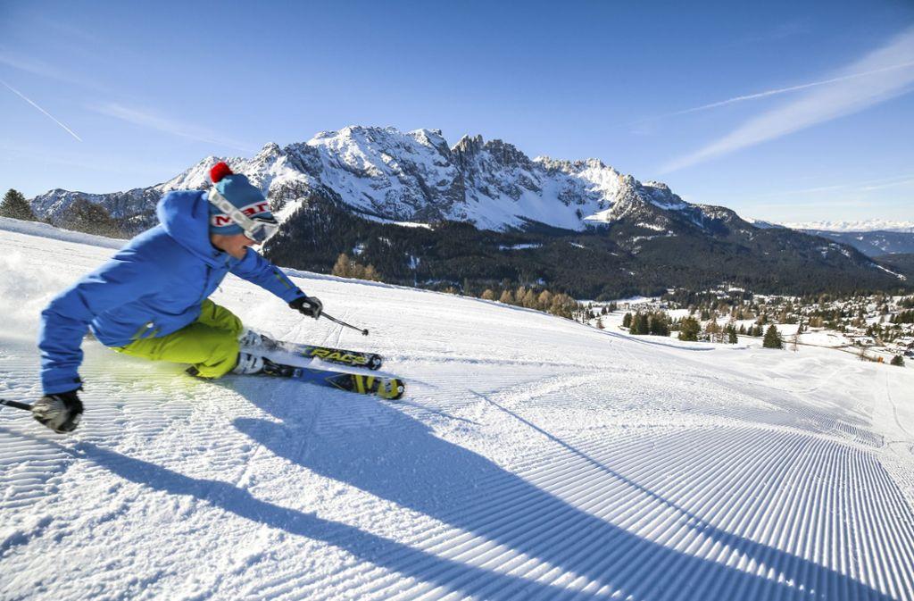 Skispaß in Südtirol: Darauf können sich die Touristen nach wie vor freuen. Foto: Nicolò Miana/SIME/Schapowalow
