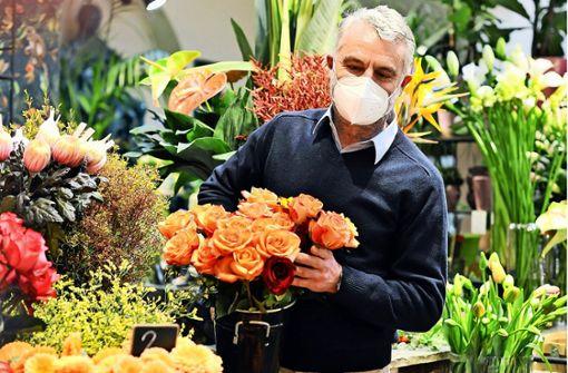 Der Valentinstag dient als Lichtblick für Floristen