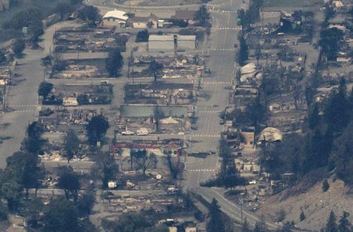 Kanadische Ortschaft Lytton fast ganz abgebrannt