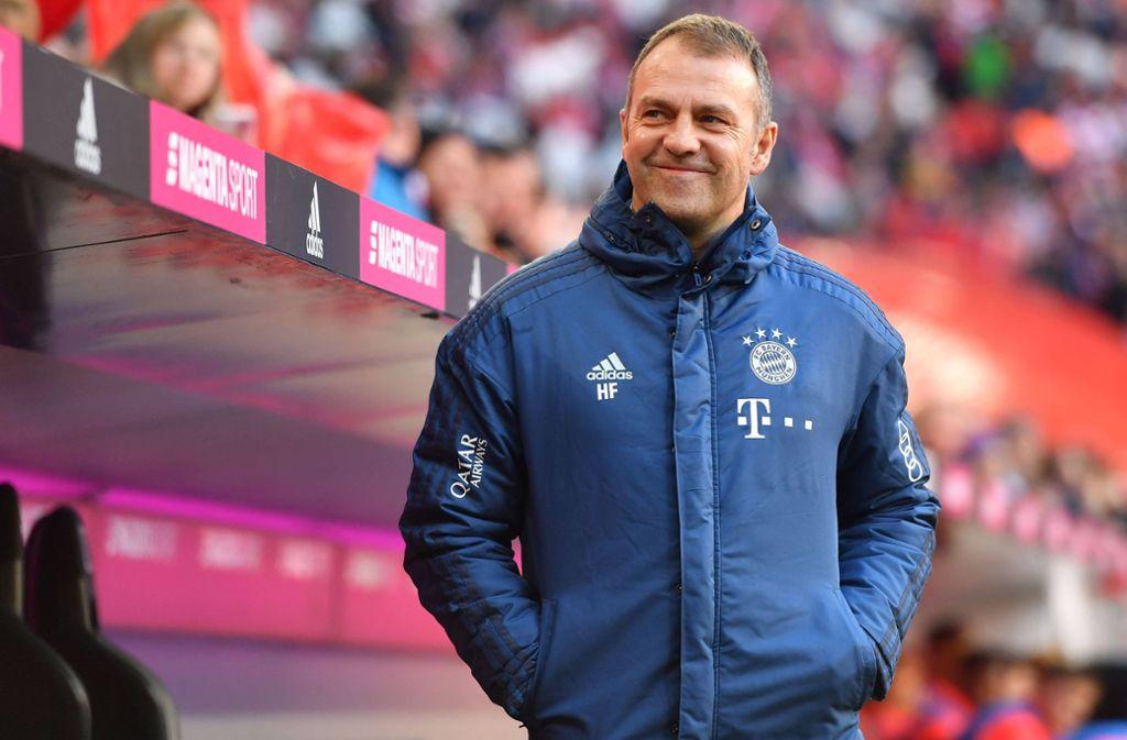 Hansi Flick bleibt Bayern-Trainer. Foto: imago images/Sven Simon/Frank Hoermann