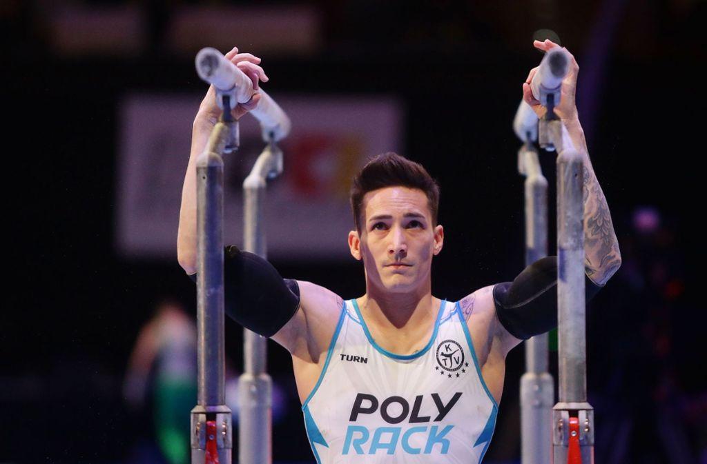 Marcel Nguyen belegt in Stuttgart den vierten Platz. Foto: Pressefoto Baumann